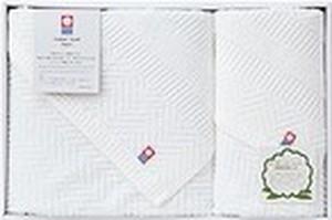 SLオーガニックバスタオル1枚&フェイスタオル1枚×20セット