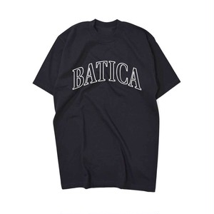 受注予約:BATICA COLLEGE LOGO T-SHIRT BLACK × WHITE