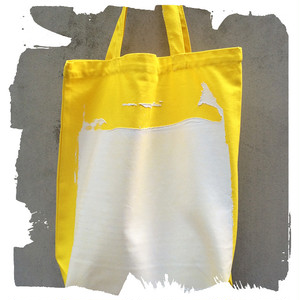 MICHAIL GKINIS TOTE BAG トートバッグ- イエロー-