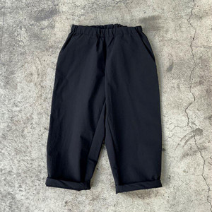 MOUN TEN. double cloth stretch pants (black) [MT202009-a] 110/125/140