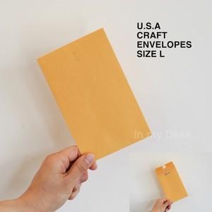 【size, L 】MADE IN USA clasp envelopes アメリカの 小さい 封筒 シリーズ Lサイズ5枚セット ポチ袋 envelopes ミニ アメリカ直輸入 洋封筒 小物入れ 小物整理 通帳入れ