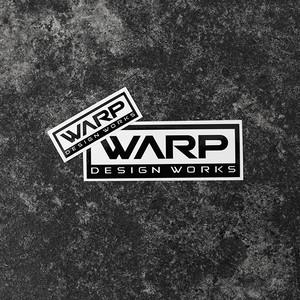 Warp Design Works Logo Sticker