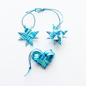 ornament 3pcs set(BL)(outlet)