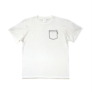 KTSB - FAKE POCKET TEE (White)