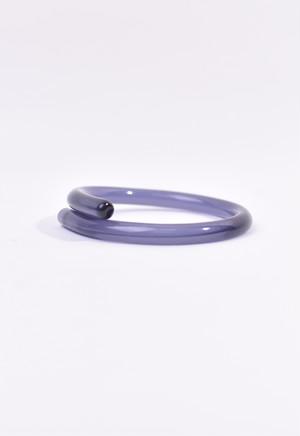 tube bangle / purple