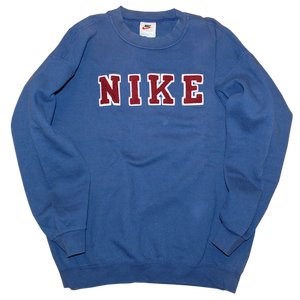 """90s Nike"" Vintage Logo Sweat Used"