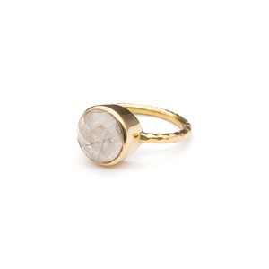 SINGLE STONE NON-ADJUSTABLE RING 022