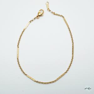 【再入荷】Simple Chain Bracelet/14KGF