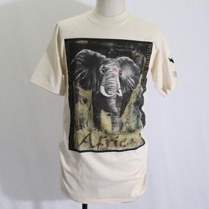 "90s ""Down To Earth""  Animal T-shirts  Deadstock  90年代 アニマルtシャツ デッドストック A713"