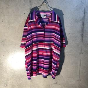 Design short sleeve open collar shirt
