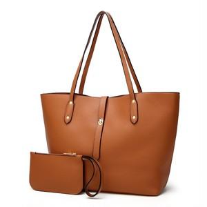 Shoulder Bag PU Leather Pcs Composite Bag Tote Bag Handbag (HF99-4754589)