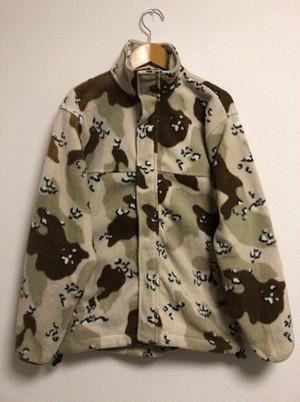 2000's fleece desert camouflage jacket