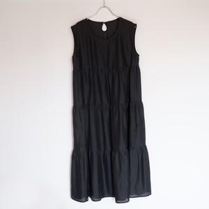 黒染め絽 ティアードドレス