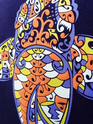 鯉パーカー(錦鯉に魅せられて)