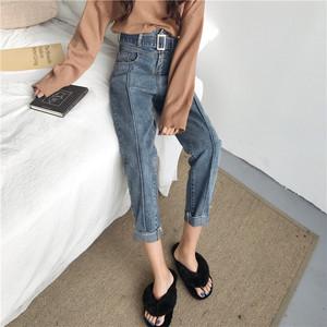 【お取り寄せ商品】roll-up line jeans 5067
