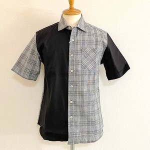Stretch Gren Check Shirts Black Check / Black