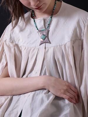 Vintage Touareg Turquoise Necklace