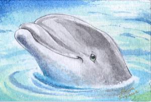 【ミニ原画】海の仲間たち⑧