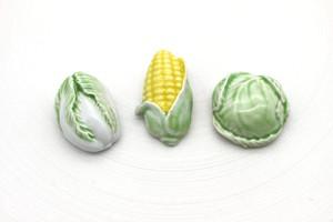 有田焼ブローチ Vegetable