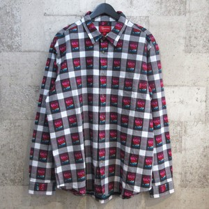 SUPREME 19SS Rose Buffalo Plaid Shirt