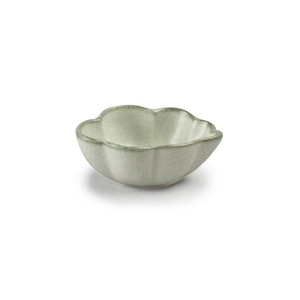 「翠 Sui」しょうゆ皿 雲豆鉢 長幅6.5cm 月白 美濃焼 288215
