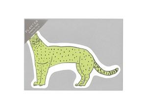 PLANTER グリーティングカード <cheetah>