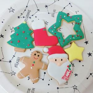 [2018年クリスマスご予約受付中]クリスマスアイシングクッキーセット①