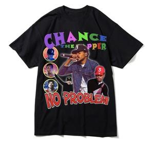 "BOOTLEG RAP T-Shirts ""CHANCE THE RAPPER"" BLACK"