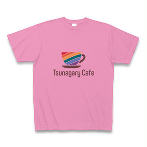Tsunagary Cafe Tシャツ(ピンク)