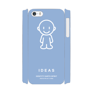IDEAS/iPhone5/5s/SEケース 801-ブルー