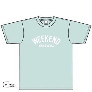 WEEKENDTシャツ(ミントグリーン)