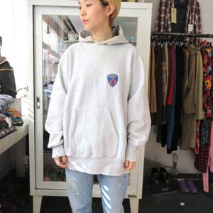 90's REVERSE WEAVE HOODED SWEAT