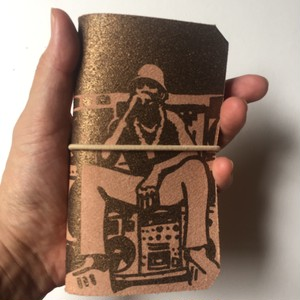 ' LL COOL J ' leather mobile case  ( 送料250円 )