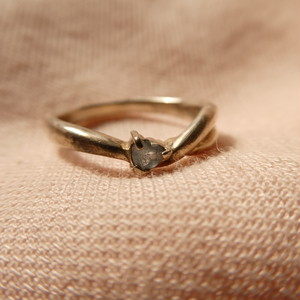 80s vintage silver ring シルバー925