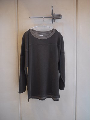 PHIGVEL / Baseball Top (SEPIA GRAY)