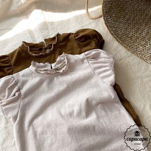«予約» frill puff sleeve 2colors ハイネックパフスリーブ