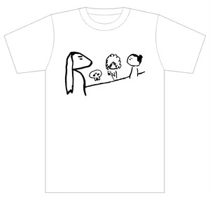 【第一弾グッズ】石井モタコデザインTシャツ「Let's飲みニケーション!」