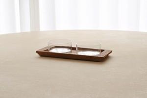 danish glass tray
