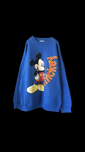 80s〜 MICKY MOUSE SWEAT