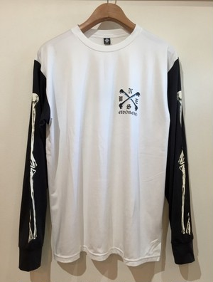 ELDORESO=エルドレッソ 『Sleeve bone Long T』  #BK×WH