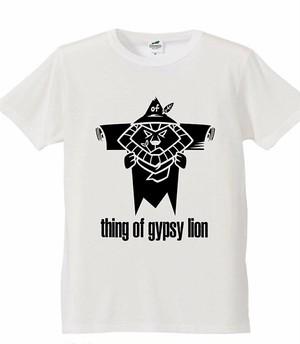 thing ofgypsy lionやさぐれTシャツ
