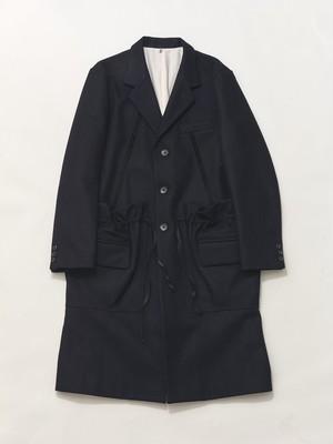 KHOKI Bag coat Navy 20aw-co-01
