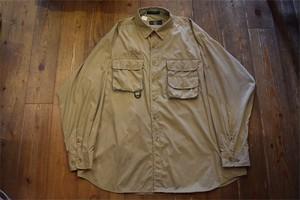 USED ORVIS フィッシングシャツ XL ベージュ