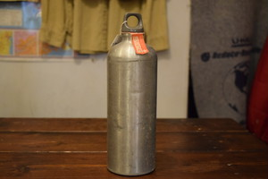 Deadstock SIGG Vintage Fuel Bottle 70s made in Switzerland G0148