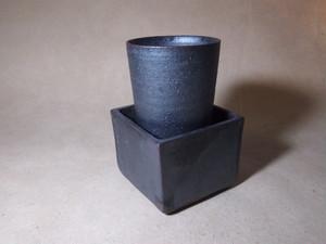筒酒器と陶升セット