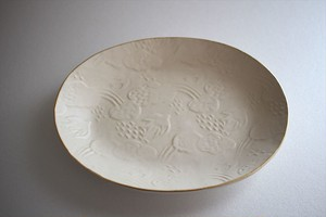 前田葉子| オーバル皿(中)