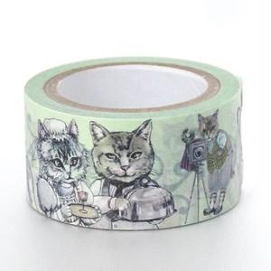 マスキングテープ 猫柄