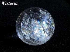 レインボー水晶 丸玉 01 直径35.4mm