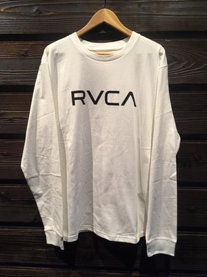 RVCA  BA041-057  WHT  Lサイズ Long Sleeve Tee