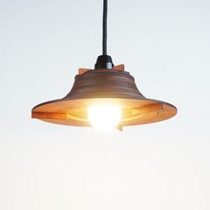 「スモールハット」木製ペンダントライト